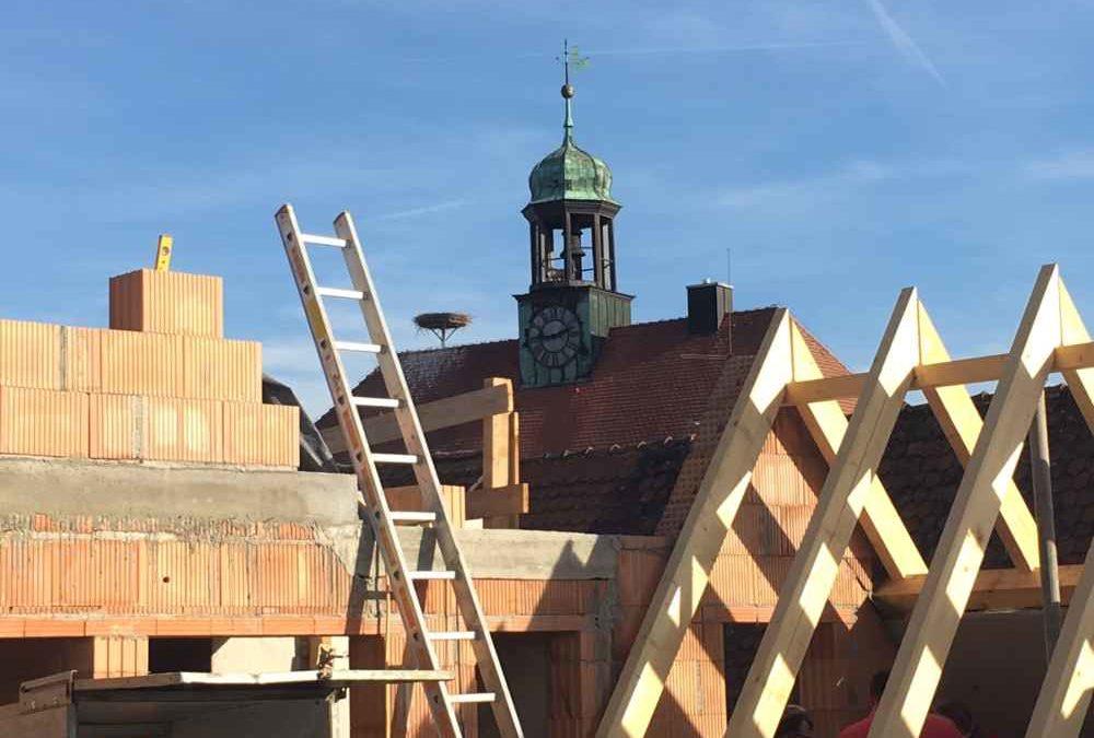 Bald Richtfest – Statik für Gasthof Krone im Herzen von Neustadt an der Aisch
